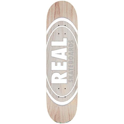 Real Oval Pearl Patterns slick skateboard Deck 8.25