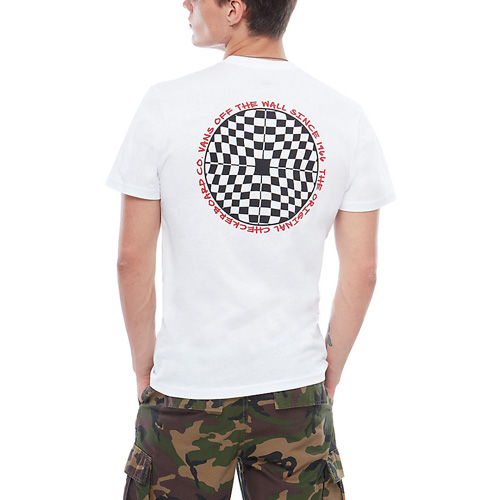 Vans Kids Checkered SS White Shirt
