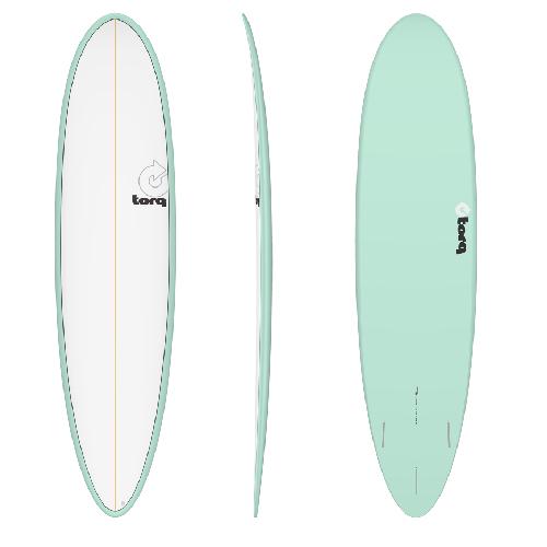Torq Funboard V+ Seagreen White Deck 7'8