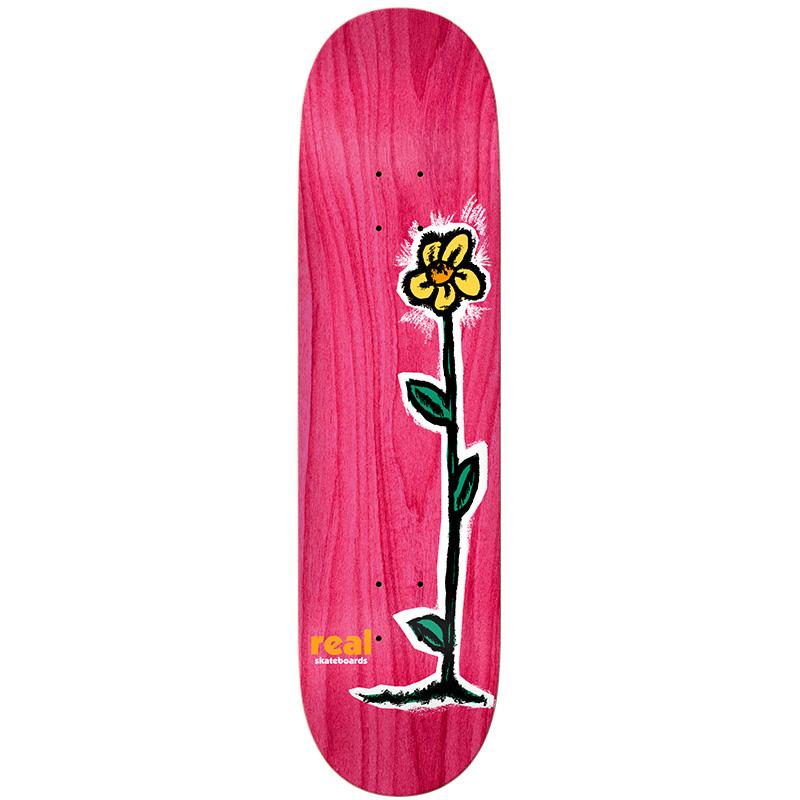 Real Regrowl Skateboard Deck Assorted Veneer