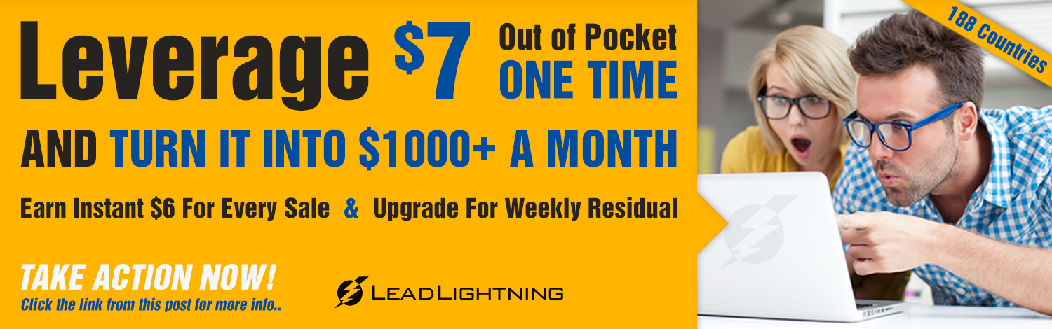 Power Lead System Lead Lightning Banners