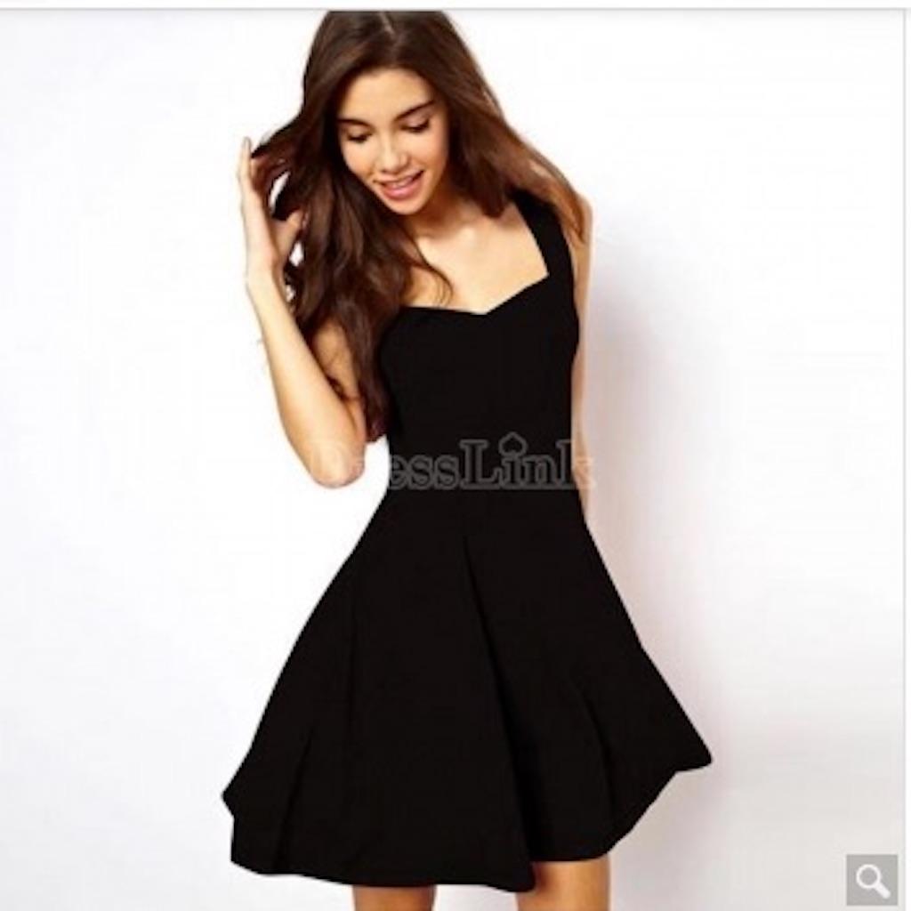 Women Fashion Sexy Slim Square Collar Sleeveless Tank A-Line Solid Short Mini Dress