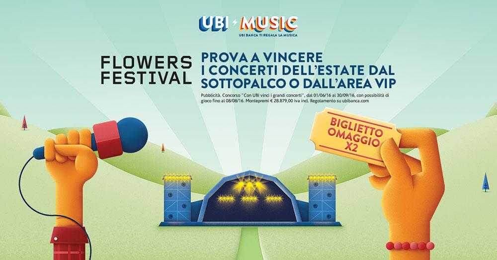 Flowers UBI MUSIC