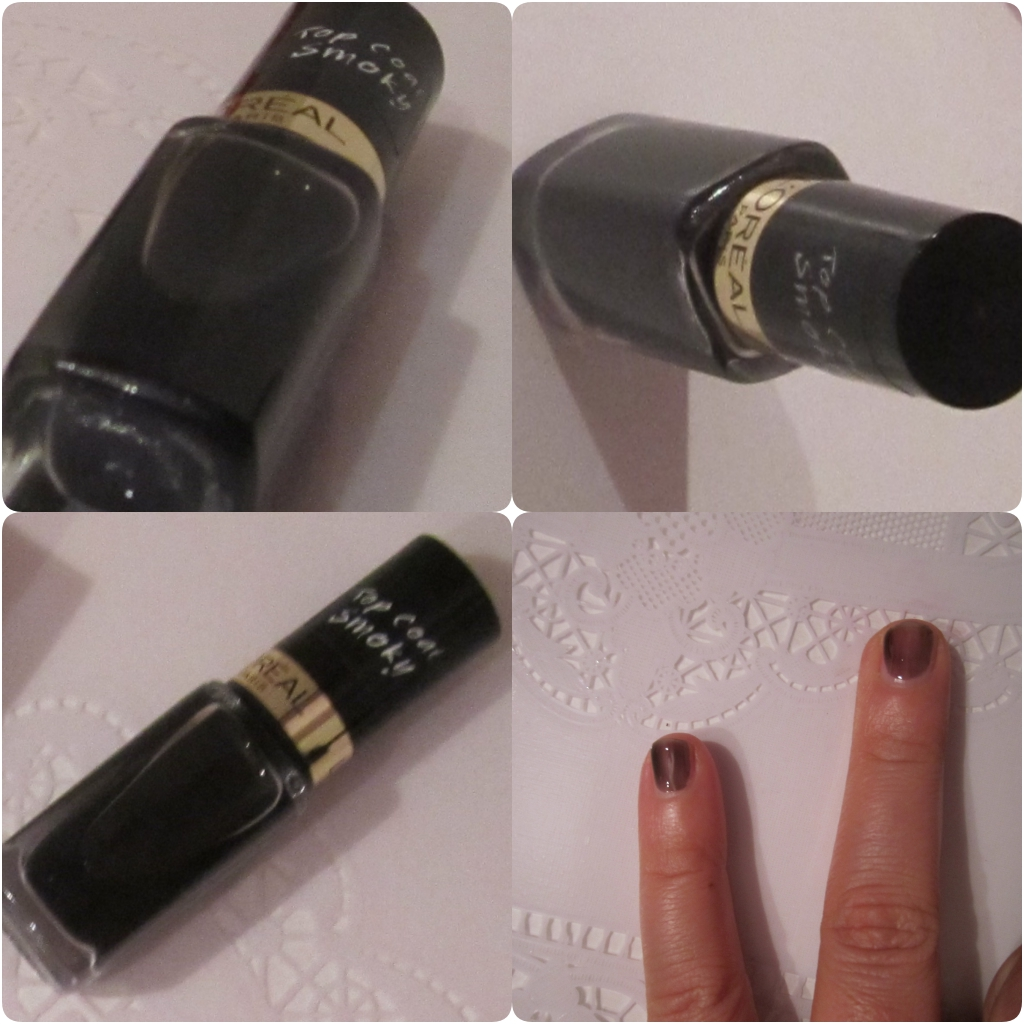L'OREAL TOP COAT COLOR RICHE SMOKY