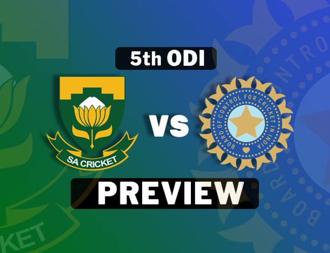 SA vs IND 5th ODI Dream11 Team Prediction: Preview| No pink this time
