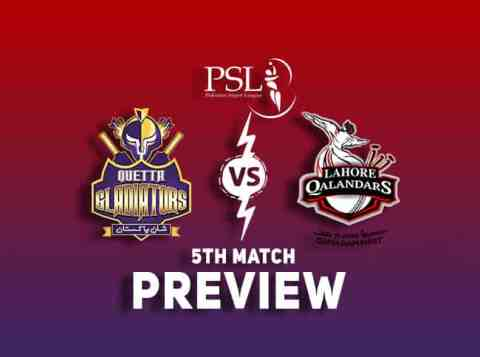 QUE vs LAH PSL T20 Dream11 Team Prediction: Preview| Quetta and Lahore aim for their first win