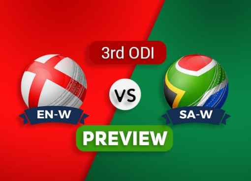 EN-W vs SA-W Third ODI Dream11 Team Prediction and Probable XI: Preview| The Final
