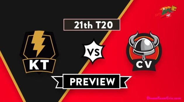 KT vs CV Dream11