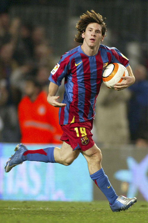 Lionel Messi Cleats : lionel, messi, cleats, Brief, History, Lionel, Messi, Wearing, Adidas