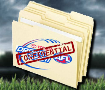 AFL DREAM TEAM 2011: Confidential