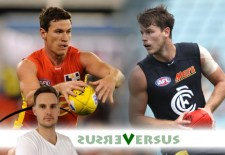 Versus – Round 1: Gibbs v Stanley