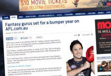 """""""The Traders"""" on AFL.com.au"""