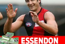 Essendon AFL Fantasy Prices 2016