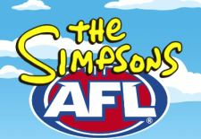 AFL Club Logos Simpsonized