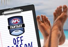 AFL Fantasy off-season 2018