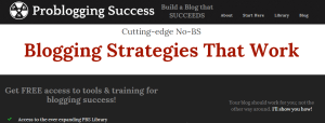 problogging success  blog