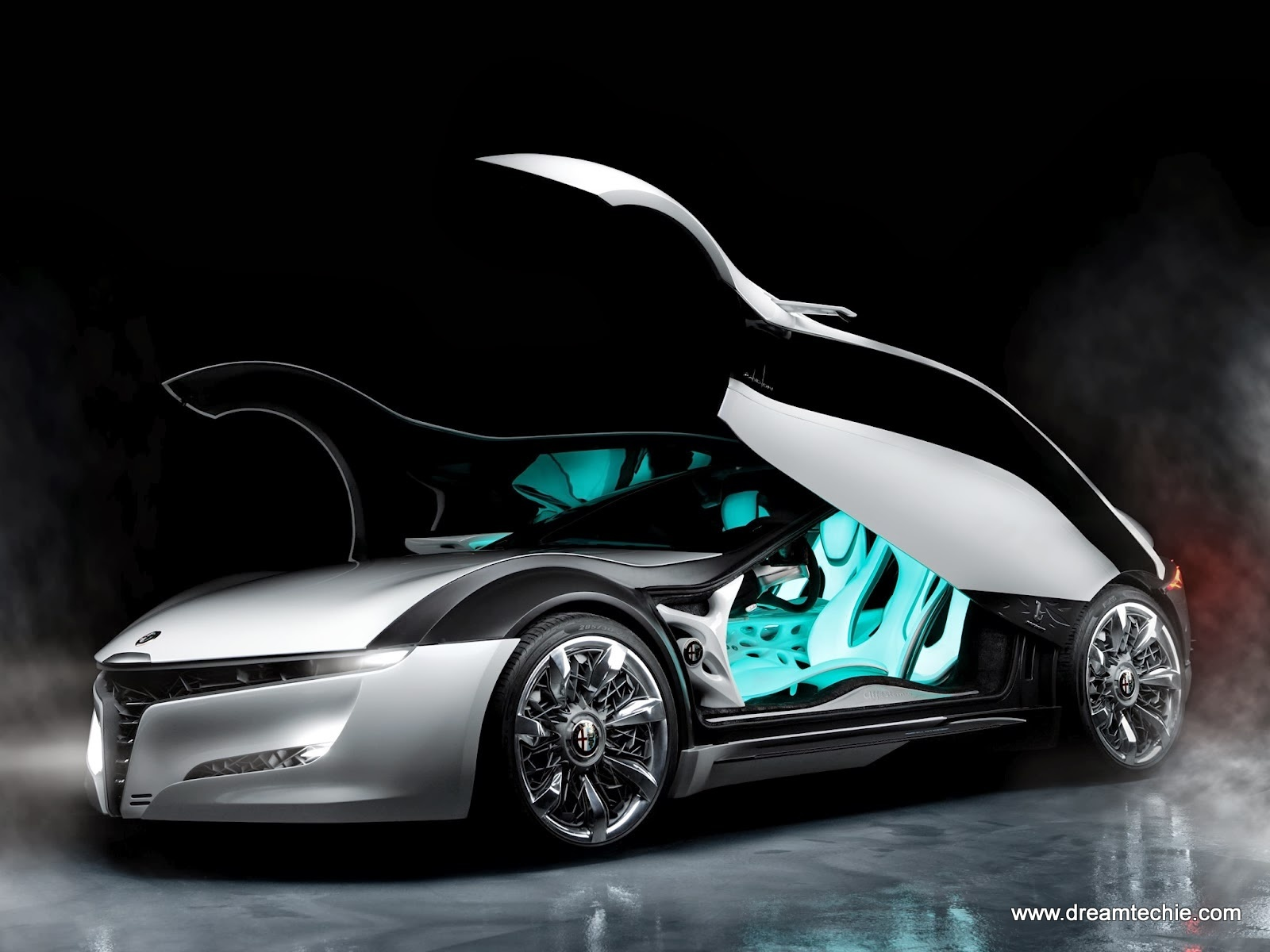 Alfa Romeo Pandion Concept Car free hd wallpaper for mobiles