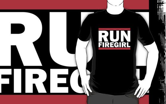 Hunger Games - Run Firegirl T-Shirt