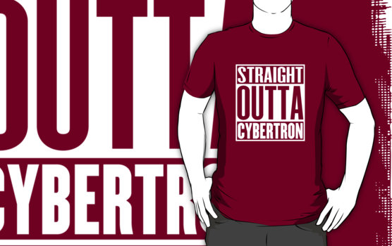 Straight Outta Cybertron T-Shirt