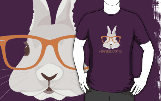 Hipster Easter T-Shirt