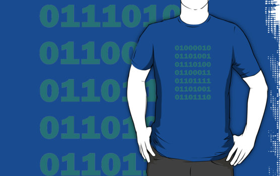Silicon Valley - Binary Bitcoin T-Shirt