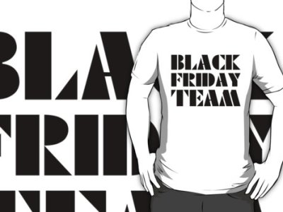 Black Friday Team T-Shirt