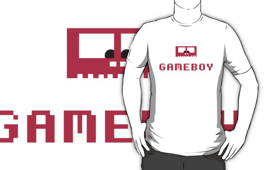 Gameboy Monster T-Shirt