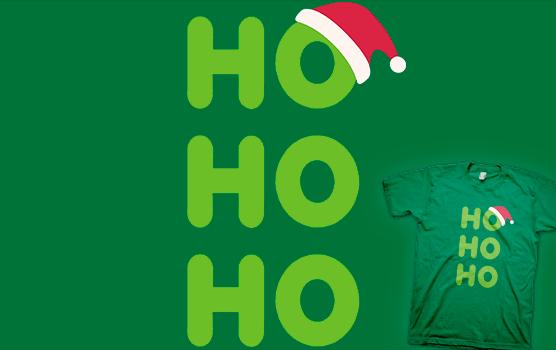 Ho-Ho-Ho - Santa T-shirt