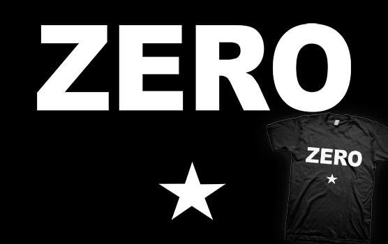 Scott Pilgrim T-shirt – Zero