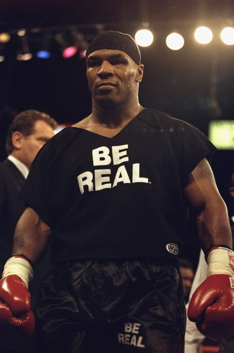 Mike Tyson T-shirt - Be Real