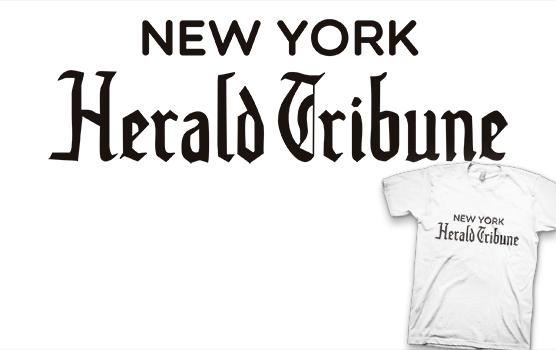 New York Herald Tribune T-shirt - À bout de souffle