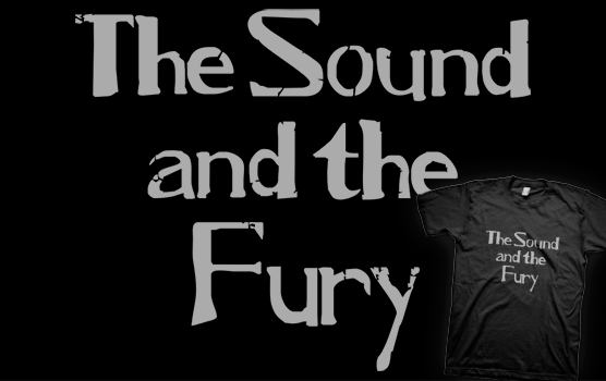 Ian Curtis T-shirt - The Sound and the Fury