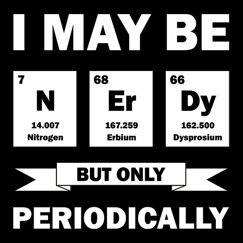 I May Be Nerdy T-shirt