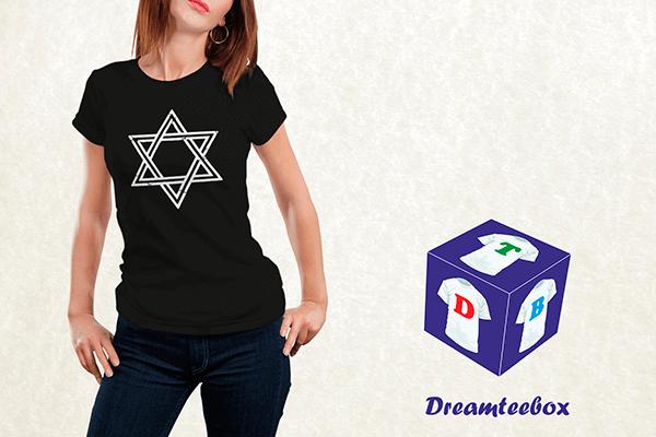 Siouxsie Sioux T-shirt - Star of David