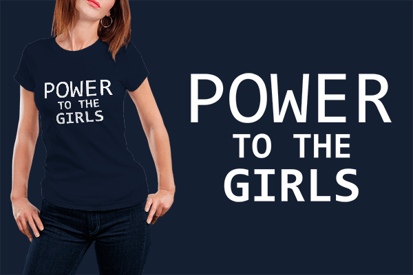 Power To The Girls - Supergirl T-shirt