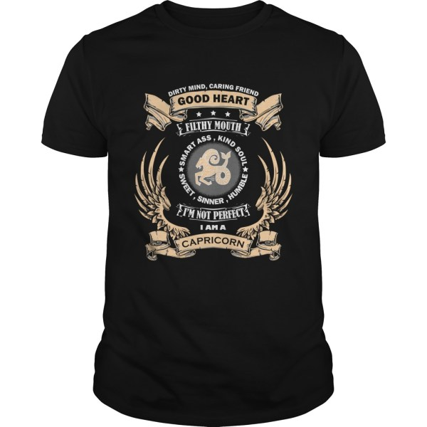 Zodiac Sign - Capricorn T-shirt