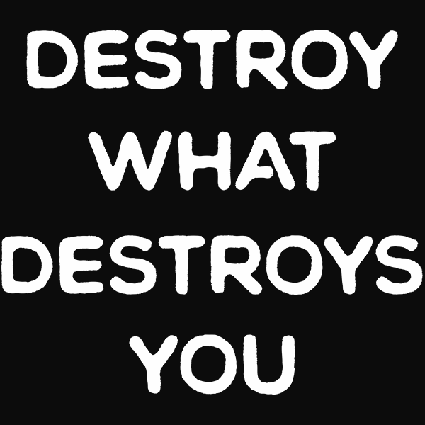 Destroy What Destroys You T-shirt