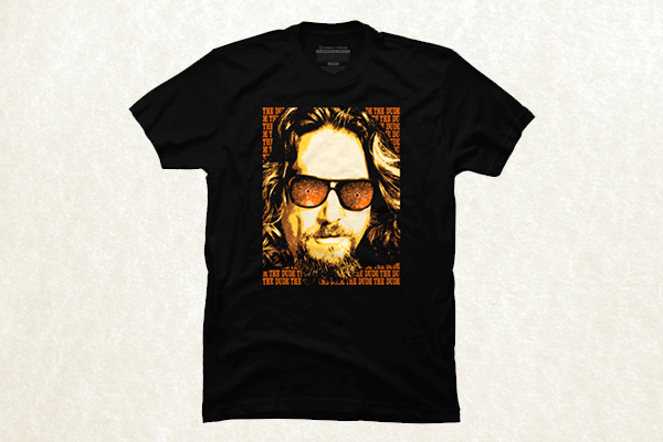 Dude Portrait - The Big Lebowski T-shirt