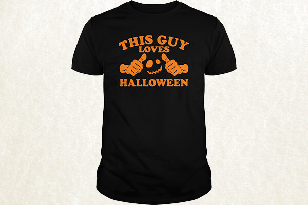 This Guy Loves Halloween T-shirt