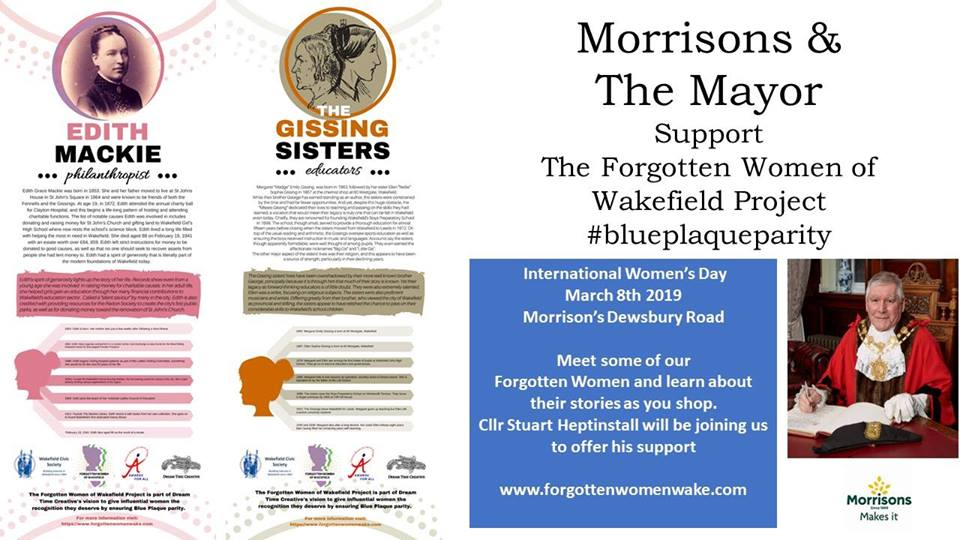 morrissons event with mayor
