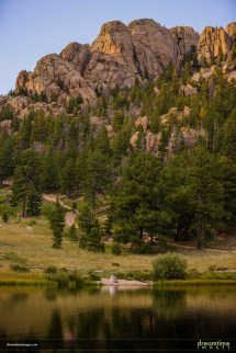 Summer Sunset Elopement In Lily Lake Rmnp
