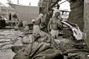 """Haciendo la colada"". Dharavi Slum. Mumbai"