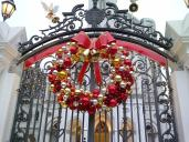 Festive Wreath @ The Chijmes