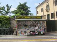 Newsstand on Bridge Padova