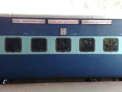 11077 Train -AC 2 tier coach