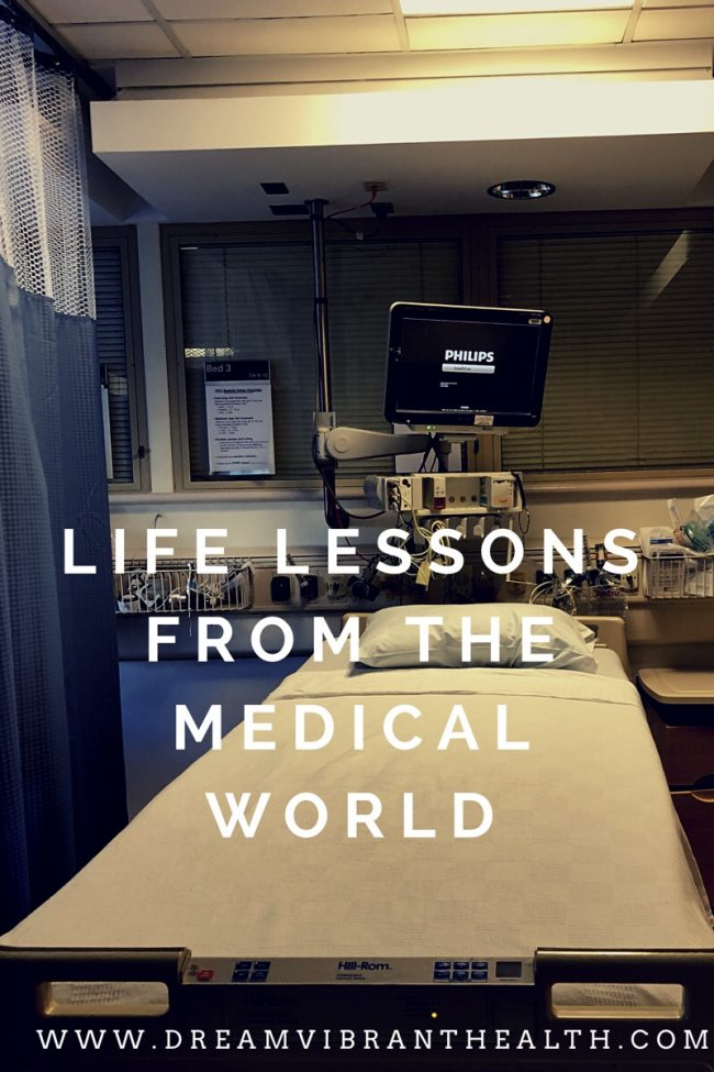 Life lessons from the ICU