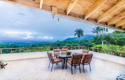 Terrace & ocean view