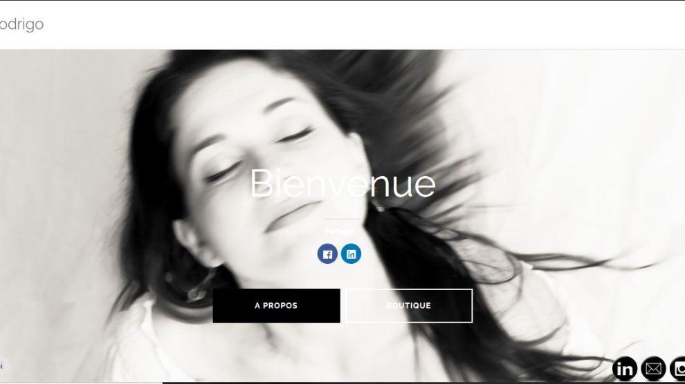 Nouveau Website de Rodrigo