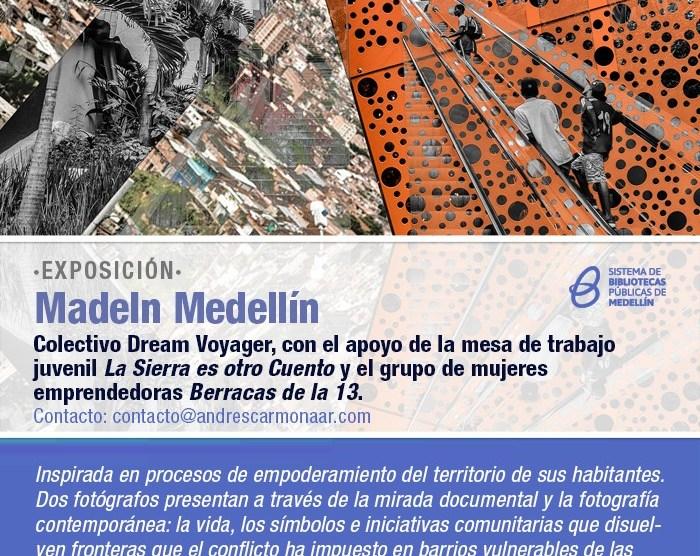 MadeIn Medellín – Exposition itinérante continue