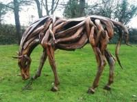 Driftwood War Horse  'Dreamwall Style Blog'